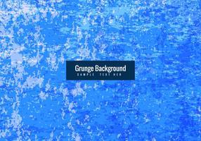 Fond grunge bleu vecteur libre