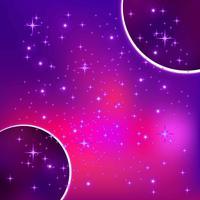 Fundo galáctico ultra violeta
