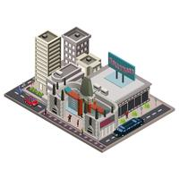 Chinese Theatre Isometric