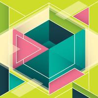 geometric banner