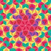 Colorful Triangle Geometric Pattern Background