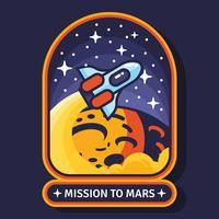 Mission zum Mars-Fleck