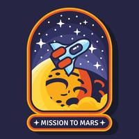 Mission à Mars Patch