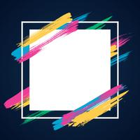 Abstract Modern Banner Theme Frame Background