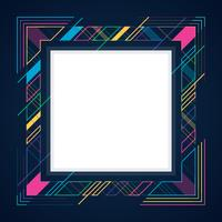Abstract Geometric Lines Modern Banner Theme Frame Background