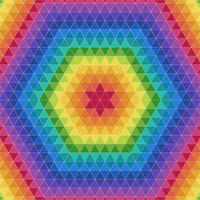 Colorful Triangle Geometric Pattern Background vector
