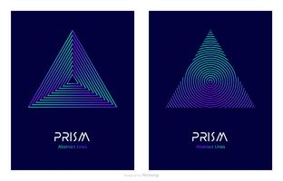Abstract-line-design-prism-logo-vector-template
