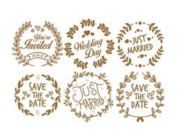 Vintage Wedding Stamp