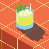 Mint Julep Illustration