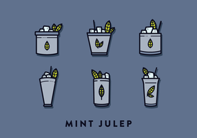 Mint Julep Vector