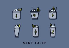 Minze Julep-Vektor