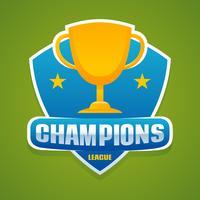 uitstekende kampioenenvectoren
