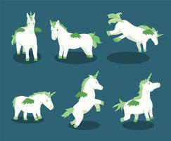 Cartoon-unicorns