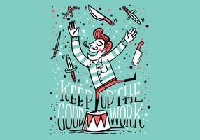 couteau jongleur gars
