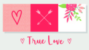 Conception de cartes True Love