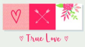 True Love Card Design