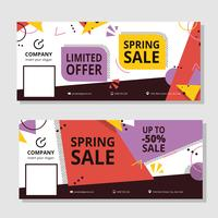 Sale Facebook Cover Template