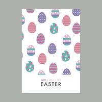Card Full Of Easter Eggs