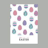 Card Full Of Easter Eggs