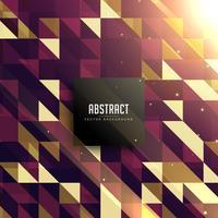 abstraktes Retro Dreieckhintergrunddesign