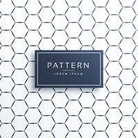 linee di forma esagonale pattern di sfondo