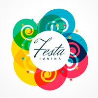 latin american festival of festa junina holiday greeting