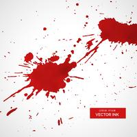 rode inkt splatter textuur vlek achtergrond