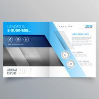 professioneel magazine omslagpagina ontwerp of bi-fold brochure temp