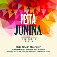 festa junina brésilienne juin festival fond coloré