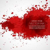 Vector fondo de manchas de sangre salpicadura