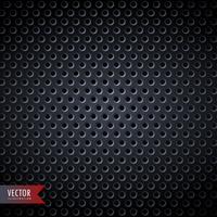 fond en métal de carbone avec des trous