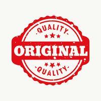 original quality stamp