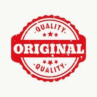 original quality stamp