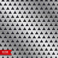 fundo de vetor de padrão de triângulo de metal