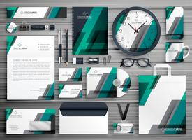 business stationery vector set design for your brand