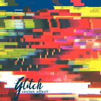 glitch failure corupt image background