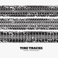 wheel tire tracks in dirty grunge style background