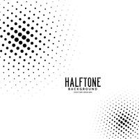 abstract circular style halftone background