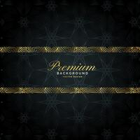 luxury premium golden background pattern design