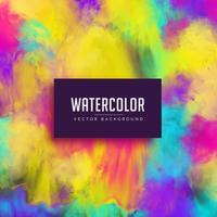 kleurrijke aquarel vlek abstracte achtergrond