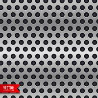 Fondo de vector de círculo cromo metal textura