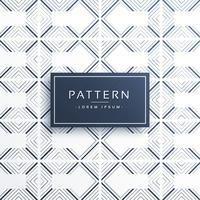 stilvolle geometrische Linien Muster Vektor