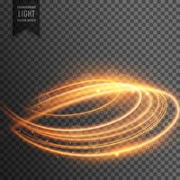 Fondo de efecto de luz transparente abstracta