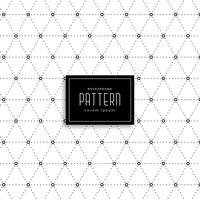 elegant dots triangle pattern background