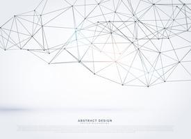 Vektor geometrische polygonale Masche Hintergrunddesign