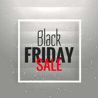 Gran fondo de venta de viernes negro con fondo gris brillante un