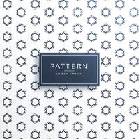hexagonal decorative pattern vector background