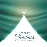 belo design de árvore de natal para a temporada de festivais