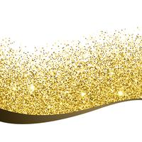 Golden Glitter Hintergrund Design Vectir