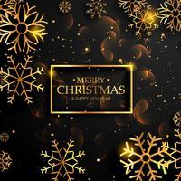 mooie premium luxe stijl vrolijk kerst achtergrond met g